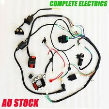 50cc 70cc 110cc ATV QUAD FULL ELECTRICS CDI COIL RECTIFIER WIRING HARNESS
