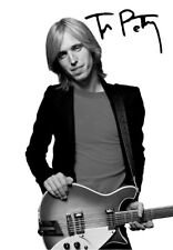 Tom Petty 5x7 Signed Autograph RP