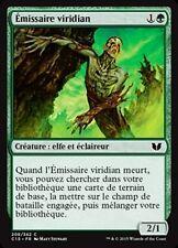 MTG Magic C15 - Viridian Emissary/Emissaire viridian, French/VF