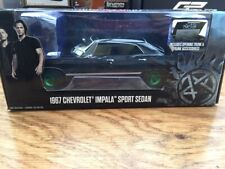 Greenlight 84032 GRW 1967 Chevrolet Impala Modelo sobrenatural unirse a la caza de 1:24