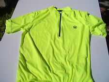 CANARI KILLER YELLOW BICYCLE JERSEY, LARGE, SHORT SLEEVE, 1/2 ZIPPER. BRAND NEW!