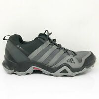 Adidas Mens Terrex Outdoor CM7728 Black Gray Running Shoes Lace Up Size 9.5