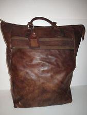 Grandes de cuero vintage Big Bag weekendtasche shoppingtasche bolsa de viaje bolsa de gimnasia