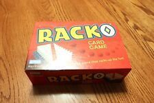 Racko Card Game 2002 Parker Brothers 8+