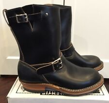 Limited Edition White's Nomad Engineer Boots Black Horween Chromexcel 10 D