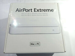 Apple Airport Extreme A1143 Gigabit Dual Band Wireless N 802.11n Router MA073B/A