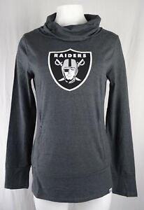 Oakland Raiders NFL Majestic Women's Slouch Neck T-Shirt