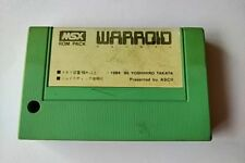 WARPROID MSX MSX2 Game cartridge only tested -a89-