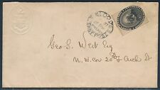 """#15L18 ON COVER LOCAL USAGE WITH CAMEO """"COAT OF ARMS"""" BS3134"""