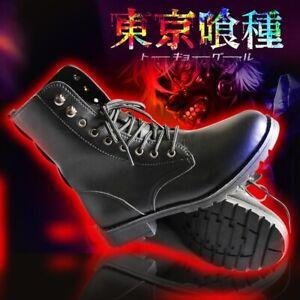 Tokyo Ghoul Kaneki Ken Shoes Cosplay Boots # Exempt Postage AA88