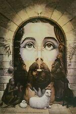 PAINTING PRINT ULTIMA CENA octavio ocampo art 11x16 poster religion jesus