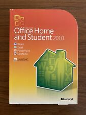 Microsoft MS Office 2010 Home and Student Family Pack For 1PC x1 =NEW BOX=