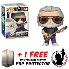 FUNKO POP JERRY GARCIA VINYL FIGURE + FREE POP PROTECTOR