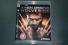 X-Men Origins Wolverine PS3 Playstation 3 Uncaged Edition **FREE UK POSTAGE**