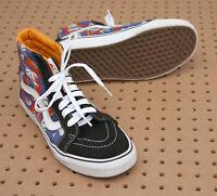 Vans Off The Wall X Van Doren SK8-Hi Shoes Mens US Size 7.5 Tropic Rays