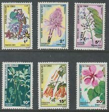 Congo 1971 J46-51 Flowers - MNH