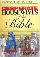Desperate Housewives of the Bible Teaching - 4 Dvds - John Hagee - Sealed - Sale