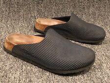 Birkenstock Birki's Navy Birko-Flor Closed Toe Slip On Clogs Womens Size 37 US 6
