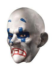 Dark Knight Costume Mask, Mens Batman Henchman Goon Chuckles 3/4 Mask