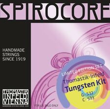 Thomastik-Infeld Spirocore Cello Tungsten G&C Value Pack ( S32,S33)