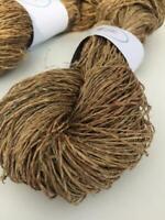 Handspun organic hemp yarn, 100g, weaving yarn, arts and crafts, knitting. UK