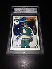 Dino Ciccarelli Signed 1983-84 O-Pee-Chee North Stars Card PSA Slabbed #83704306