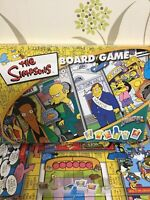The Simpsons Springfield USA Family Party Board Game - Bart Homer Lisa Marge Fun