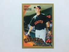 2010 Topps Gold #2 Buster Posey Rookie Card RC (1756/2010)