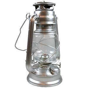 Sturmlaterne Lampe Petroleumlampe Öl Lampe Vintage Camping Docht Petroleum 24 cm