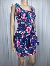 ** HOT OPTIONS ** BNWT $49.99 * Sz 12 Multi Colour Print Peplum Dress - (B186)