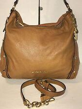 AUTH Michael Kors Studded Tote, Handbag, Purse, Shoulder Bag Tan Leather $398