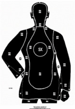 B21 XR Silhouette Targets - Qty 50 - Printed in black color
