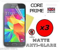 3x HQ MATTE ANTI GLARE SCREEN PROTECTOR COVER FILM GUARD FOR SAMSUNG CORE PRIME