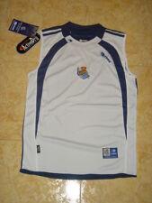 Real Sociedad Soccer Jersey Football Vest Spain Astore Sleeveless Shirt NEW S