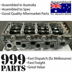 New Assembled Cylinder Head Kit Fits Nissan ZD30 - fitted cams - VRS & Head Bolt