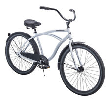 """Huffy 26"""" Mens Cranbrook Cruiser Bike With Perfect Fit Frame White NEW"""