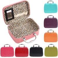 Travel Cosmetic Makeup Bag Toiletry Case Vanity Storage Poush Organizer Handbags