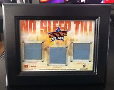 WWE SummerSlam 2015-2017 Framed Canvas Plaque (Limited to 100) Barclays Center