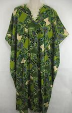 Caftan Kaftan African Dress One Size Fits All Green Purple Blue
