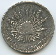 G15422 - Mexiko 8 Reales 1842 ZsOM Zacatecas KM#377.13 Silber Mexico