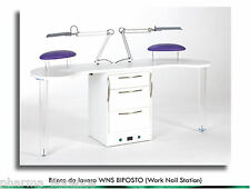 Banco Biposto da Lavoro mod. WNS Work Nail Station MissKy by KyLua Made in Italy