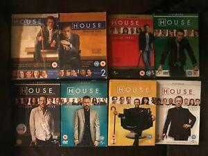 House M.D Seasons 1 2 3 4 5 6 7 & 8 DVD Boxsets Choose From List