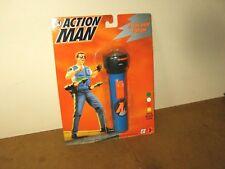 VERY RARE Modern ACTION MAN - MAM - HASBRO 1995 - 4 COLOUR TORCH with morse code