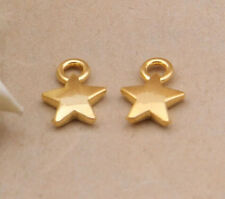 20pc Tibetan Gold Five-pointed star Jewelry Accessories wholesale PJ2116