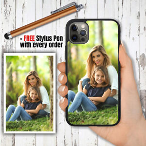 PERSONALISED Custom PHOTO Phone Hard Case Cover +PEN For iPhone XS 11 12 Pro Max