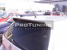 Rear Roof Extention Wing Door Spoiler For VW Golf 4 IV MK4
