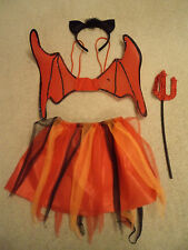 Red Fairy/Butterfly/Halloween Fancy Dress Costume Child/Toddler