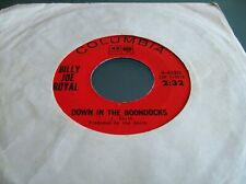 Billy Joe Royal,Down In The Boondocks/Oh,What A Night (Columbia Import)
