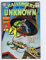 Challengers of the Unknown #46 DC Pub.1965