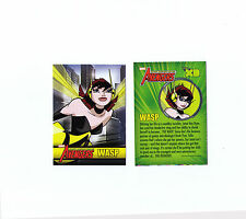 WASP sample promo trading card - The Avengers - Marvel and Disney